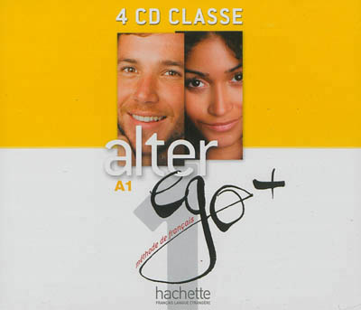 Alter Ego + - Niveau 1 - CD audio classe (x4)