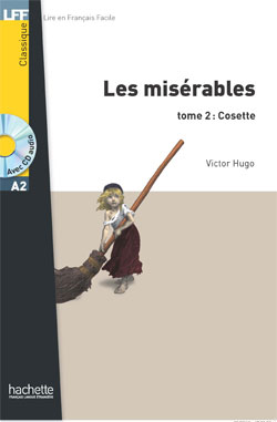 Les Misérables (Cosette), T. 2 + CD audio MP3 (Hugo) - Niveau A2