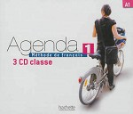 Agenda Niveau 1 - CD audio classe (x3)
