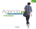 Agenda Niveau 2 - CD audio classe (x3)