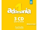 Adomania 1 CD Audio Classe (x3)