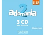 Adomania 2 CD Audio Classe (x3)