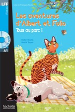 Albert et Folio Tous au parc ! + CD Audio MP3